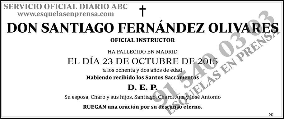 Santiago Fernández Olivares